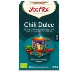 Yogi Tea Bio Cha Chili Doce 17 Saq