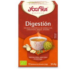Yogi Tea Bio Cha Digestao 17 Saq