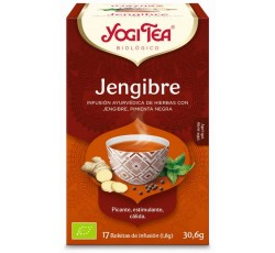 Yogi Tea Bio Cha Gengibre 17 Saq