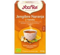 Yogi Tea Bio Cha Gengibre Laranja Baunilha 17 Saq
