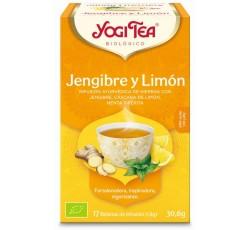 Yogi Tea Bio Cha Gengibre Limao 17Saq
