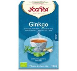 Yogi Tea Bio Cha Ginkgo 17 Saq