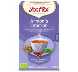 Yogi Tea Bio Cha Harmonia Interior 17 Saq