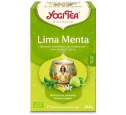 Yogi Tea Bio Cha Lima Menta 17 Saq