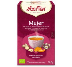 Yogi Tea Bio Cha Mulher 17 Saq