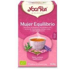 Yogi Tea Bio Cha Mulher Equilibrio 17 Saq