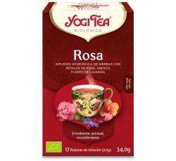 Yogi Tea Bio Cha Rosa 17 Saq