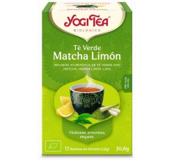 Yogi Tea Bio Cha Verde Matcha Limao 17 Saq