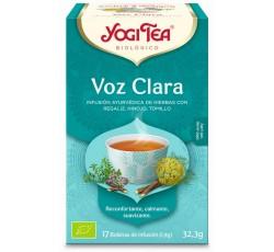 Yogi Tea Bio Cha Voz Clara 17 Saq