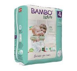 Bambo Nature Fralda  4-L 7-14KG X24