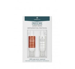Endocare Expert Drops Depigmenting Protocol Sérum Iluminador 10mL + Sérum Despigmentante 10mL
