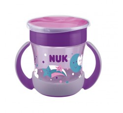Nuk Mini Magic Cup Brilha Esc 6M+ 160mL