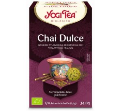 Yogi Tea Bio Cha Chai Dolce 17 Saq