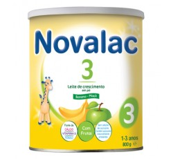 NOVALAC 3 LT CRESCIM BANAN/MACA800G