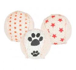 Brinquedo para Gato- Conjunto de 3 bolas