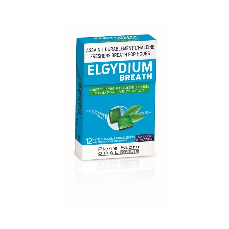 Elgydium Breath 12 Pastilhas