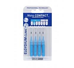 Elgydium Clinic Escovilhão Compact Mono Azul Pack 4x