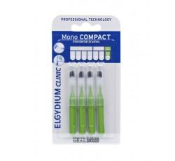 Elgydium Clinic Escovilhão Compact Mono Verde Pack 4x