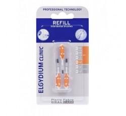 Elgydium Clinic Escovilhão Recarga Laranja Pack 3x