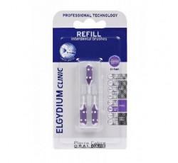 Elgydium Clinic Escovilhão Recarga Violeta Pack 3x