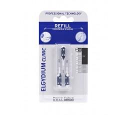 Elgydium Clinic Recarga Escovilhão Preto Pack 3x