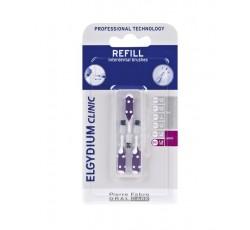 Elgydium Clinic Recarga Escovilhão Flex Violeta Pack 3x
