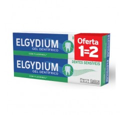 Elgydium Gel Dentífrico Dentes Sensíveis 75mL Duo