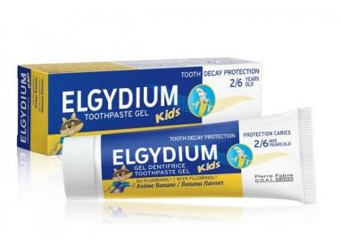 Elgydium Kids Gel Dentífrico Banana 50mL