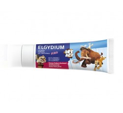 Elgydium Kids Gel Dentífrico Morango 50mL Idade do Gelo
