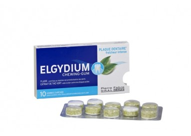 Elgydium Pastilha Elastica Anti-Placa Bacteriana X10