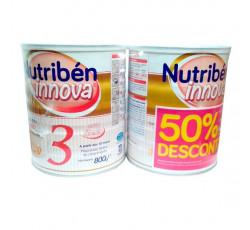 NUTRIBEN INNOVA 3 LEITE CRESC800X2 -50%2UNI